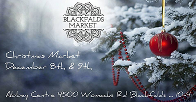 Dec 8-9, 2018Blackfalds Christmas Market